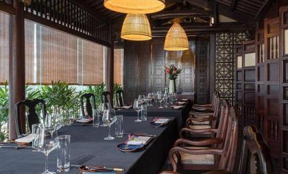 Rèm nhà hàng cho không gian sang trọng